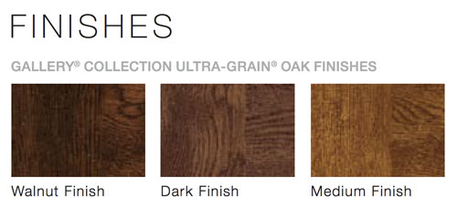 Gallery Wood Grain Colors