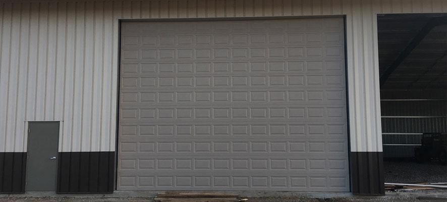 New Commercial And Residential Garage Doors Ready To Install